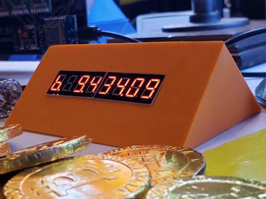 BitWedge Orange Crypto Ticker