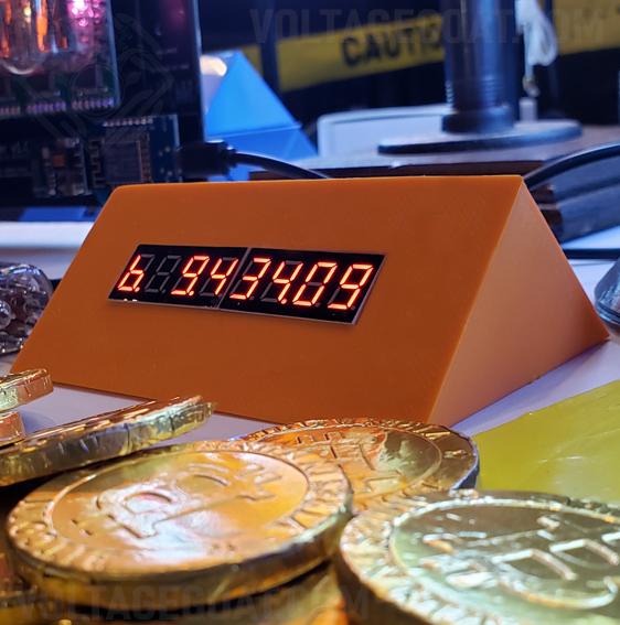 BitWedge Orange Crypto Ticker