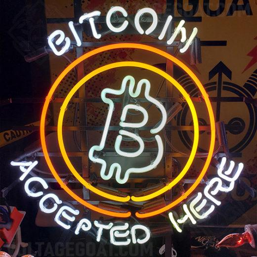 Bitcoin Neon Sign