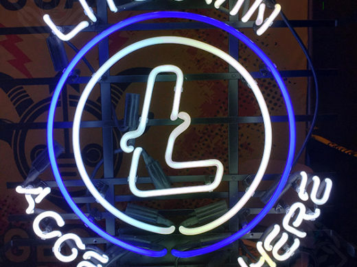 Litecoin Neon Sign