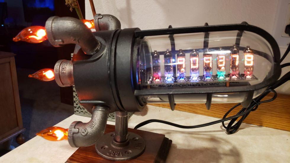 Matte Black IV-9 Bitcoin Ticker Rocket