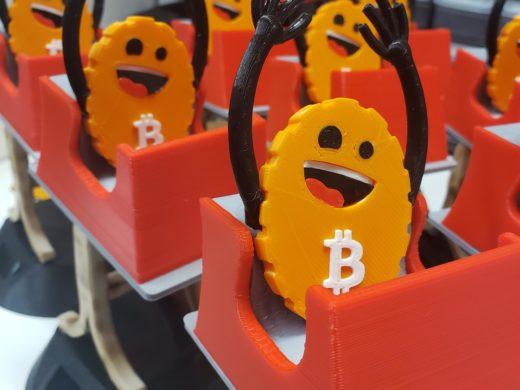 Roller Coaster Guy Bitcoin Price Ticker