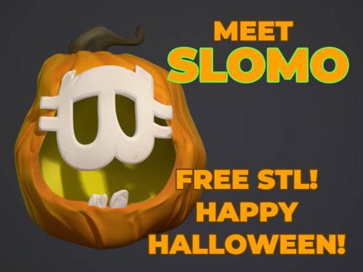 SLOMO Bitcoin Pumpkin Promo